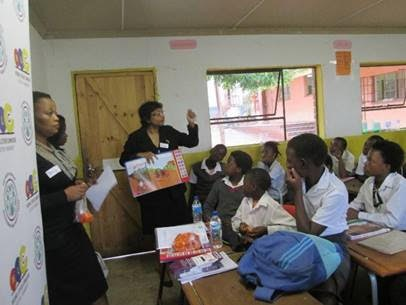 diepsloot school talks