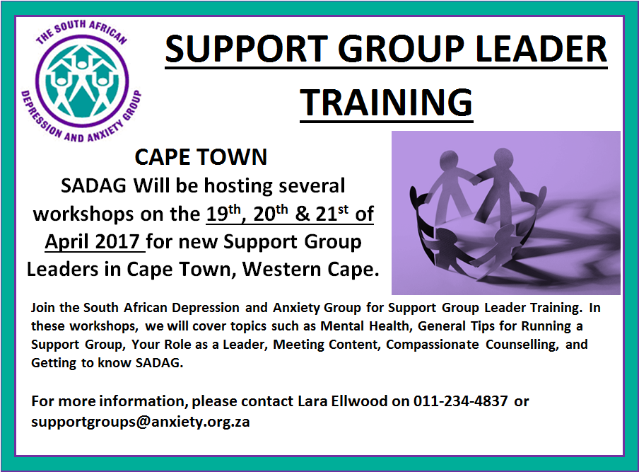 Cape Town Support Group Training