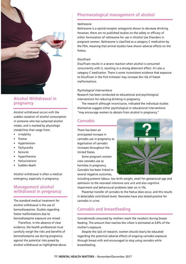 Substance Use Disorders in Pregnancy 2