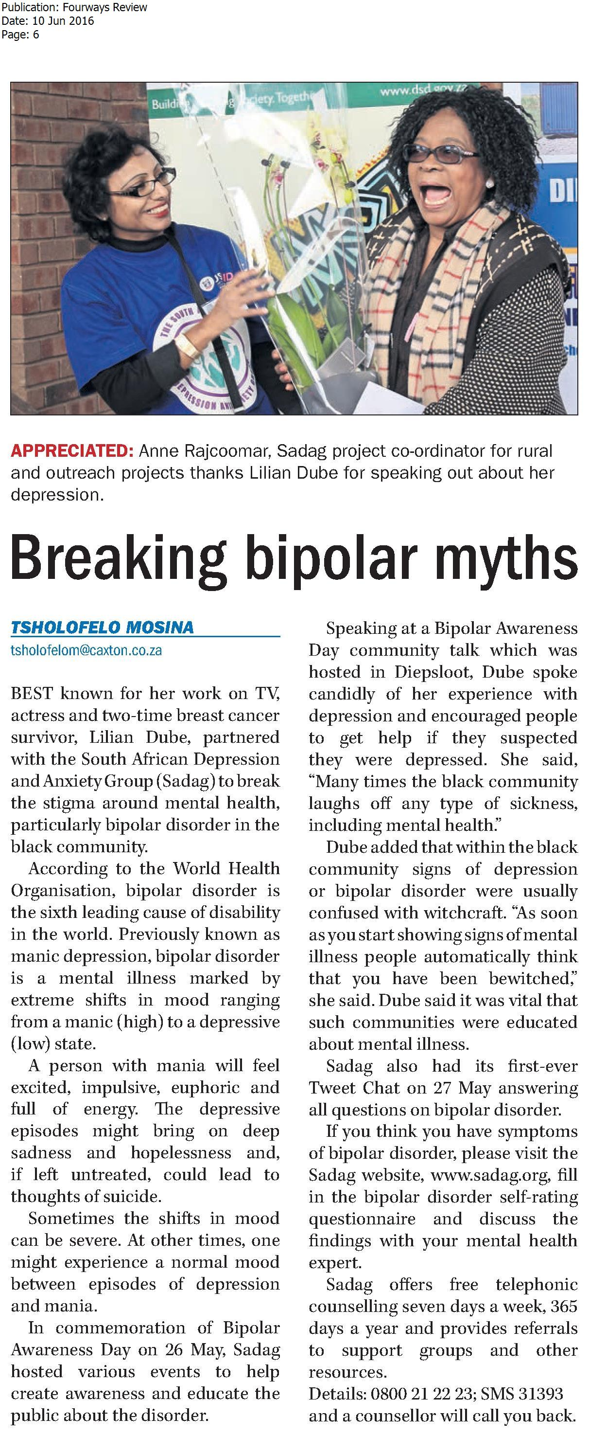 breaking bipolar myths