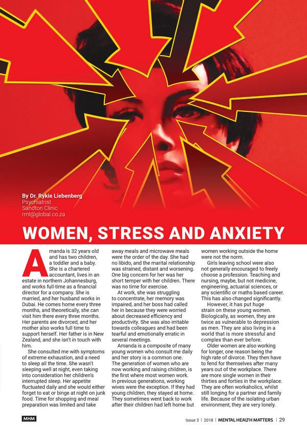 women stress anxiety 1